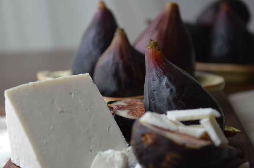 The Perfect Match: Figs & Ricotta Salata