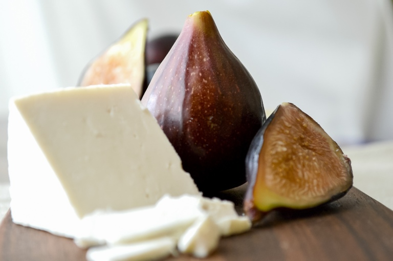 ricotta salata & black mission figs