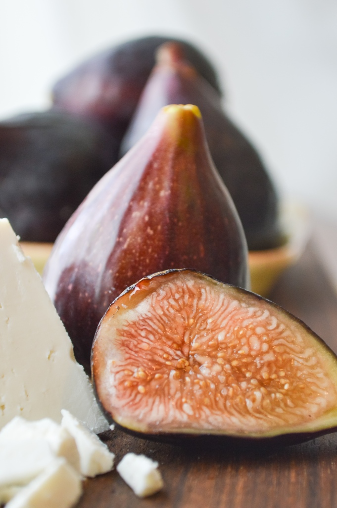 black mission figs & ricotta salata