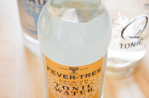 fevertree and Q tonic waters | whiskandmuddler.com