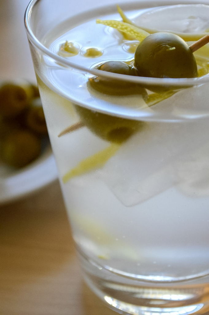 dirty gin and tonic | whiskandmuddler.com