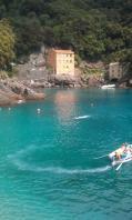 going for a swim- positano