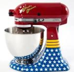 mixer decal wonder women