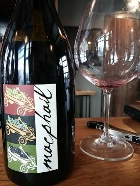 Notice my glass is empty- amazing wine!