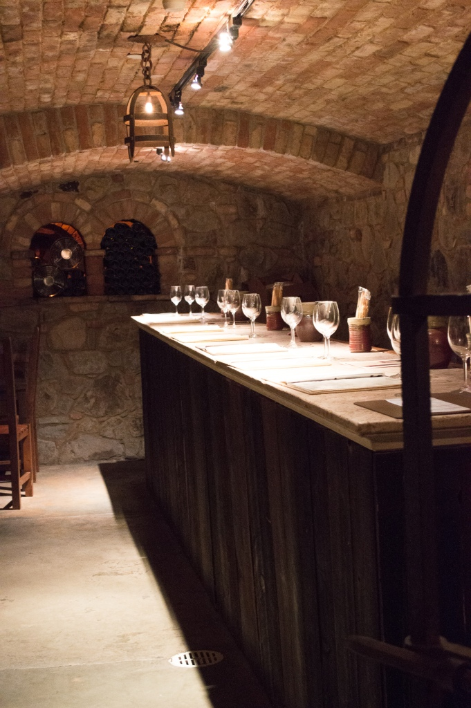 Private Tasting Cellar- Castello di Amorosa, Napa Valley