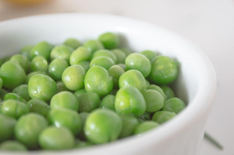 petite spring peas