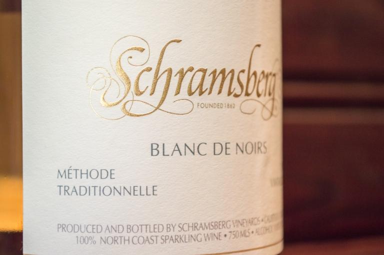 Schramsberg Vineyard label