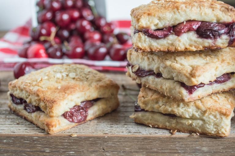 cherry scones
