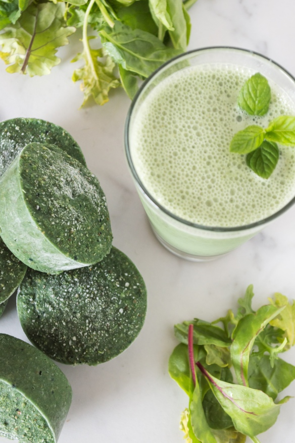 super greens smoothie discs