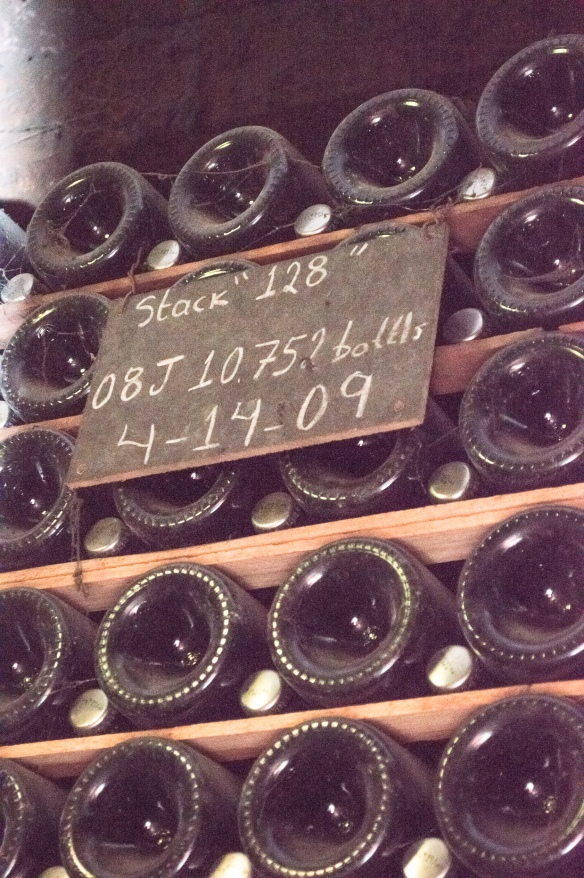 schramsberg bottles aging