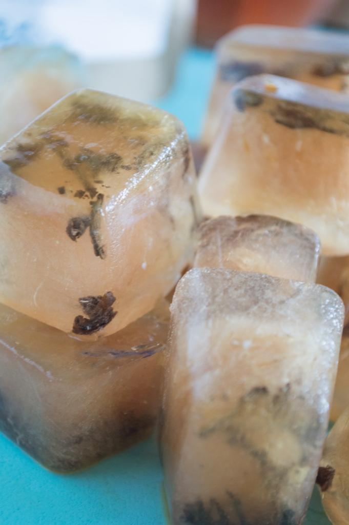 hawaiian breeze tea ice cubes