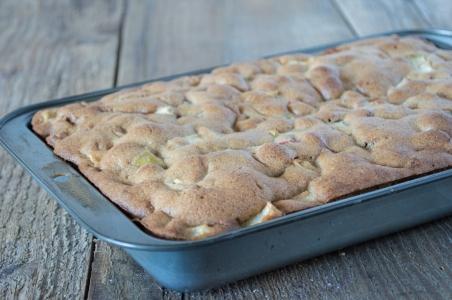 apple spice cake | whiskandmuddler.com