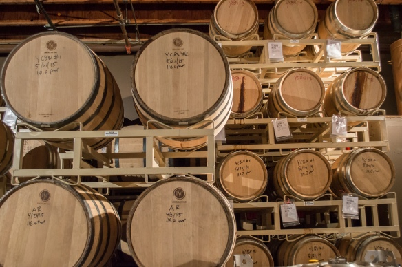 aging room at sonoma county distilling co. | whiskandmuddler.com