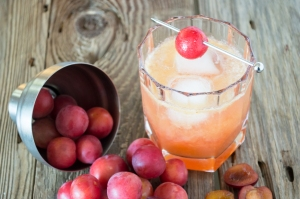 wild plum whiskey sour | whiskandmuddler.com