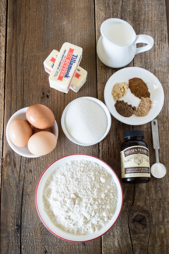 apple spice cake ingredients | whiskandmuddler.com
