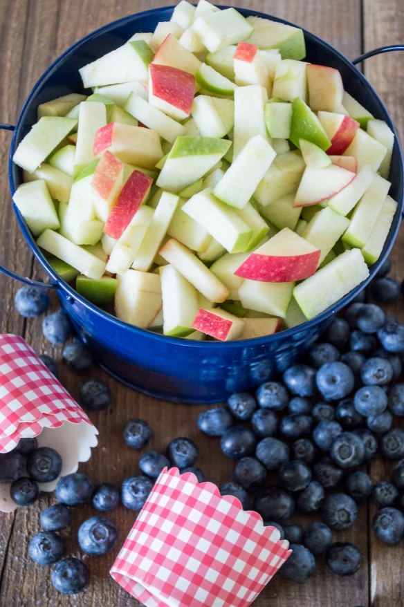 apples and blueberries | whiskandmuddler.com