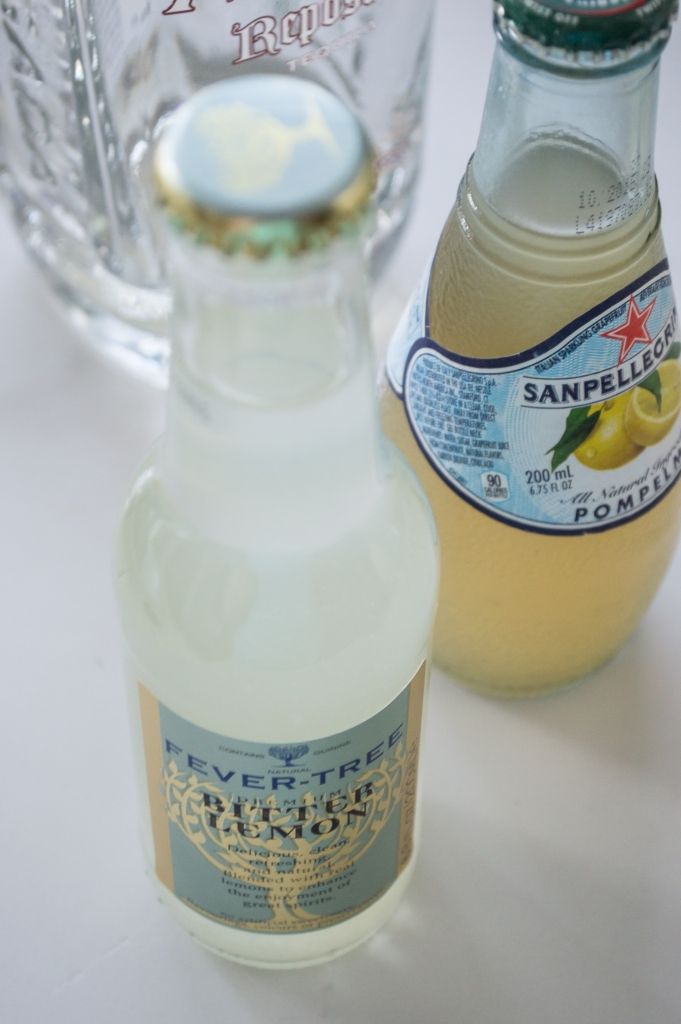 fevertree and san pellegrino mixers | whiskandmuddler.com