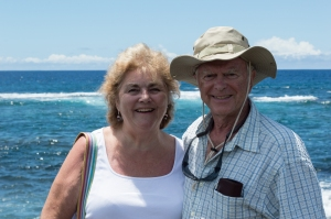 Mom & Dad at Black Sands Beach | whiskandmuddler.com