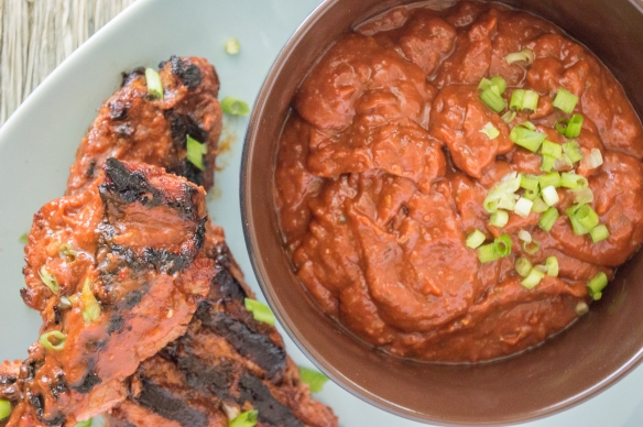 East Meets West BBQ Sauce | whiskandmuddler.com