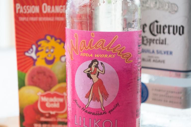 POG, Liliko'i Soda, Silver Tequila