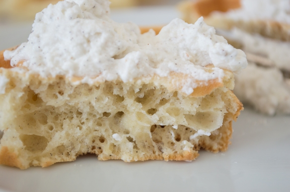 cardamom belgian waffles with spiced whipped cream | whiskandmuddler.com