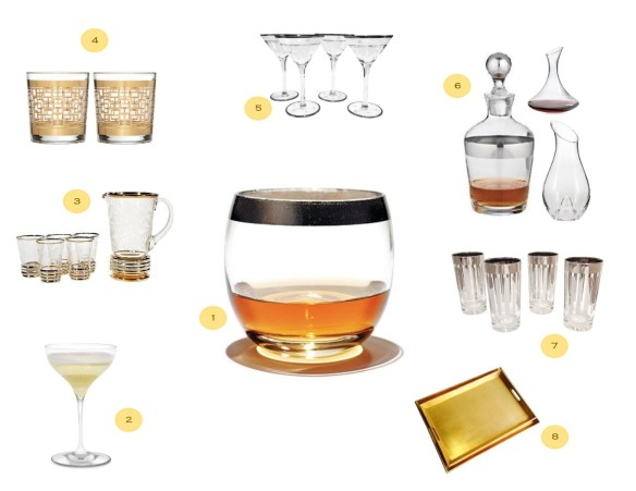 bar buying guide- barware
