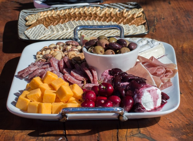 cheese and charcuterie platter safari west | whiskandmuddler.com
